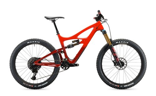 Ibis Mojo HD4 Fireball Red GX Worx XL