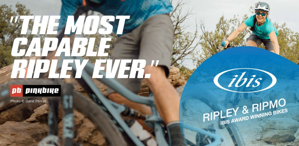 Ibis Ripmo and Ripley Mountain Bikes